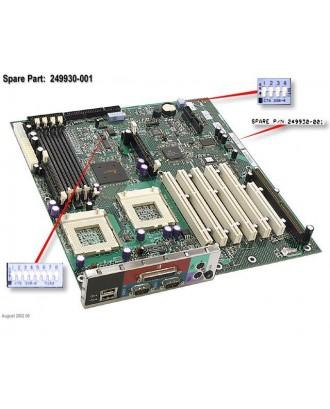 COMPAQ ML350 G2 SYSTEM BOARD PN: 249930-001