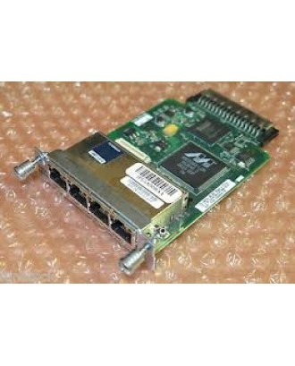 Cisco HWIC-4ESW 4 port 10/100 Ethernet Switch Interface Card Mod