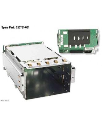 Compaq SCSI drive cage backplane