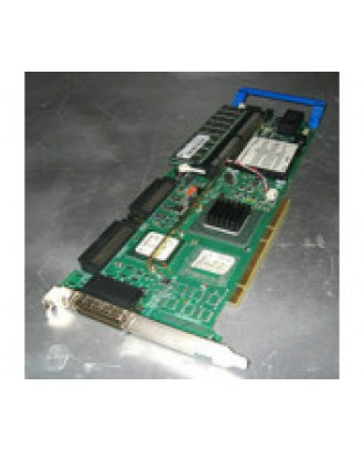 Dell PERC2 Dual channel RAID controller card with