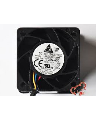 Dell PowerEdge R210 N229R T705N 12V DC Fan