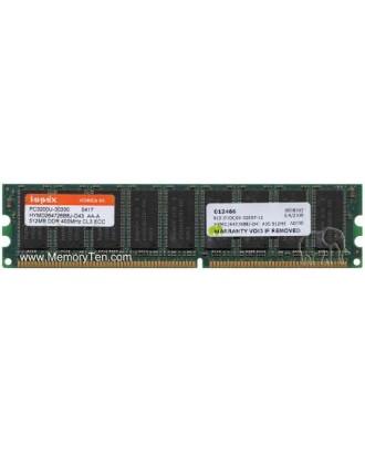 Dell Poweredge 750 DDR SDRAM - Unbuffered DIMM 512MB HYMD264726B