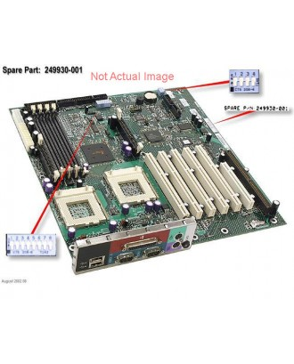 HP DL140 X2.4 2P Power switch LED board  348791-001