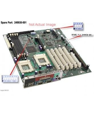 HP DL385G5 2353 2P Fan board  408791-001