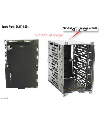 HP ML350G4 HP-SCSI US SCSI (six drive) cage  359719-001