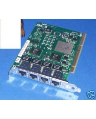 HP NC340T Quad Port Gigabit NIC 389996-001 391661-B21