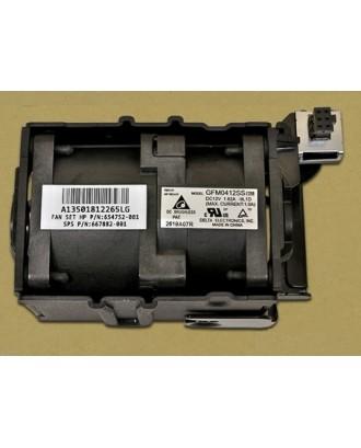 HP ProLiant DL360 G8 Server CPU Fan Assembly Kit  667882-001 732