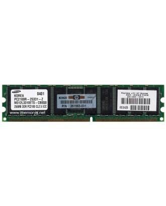 HP Server Memory 256 MB DDR Memory