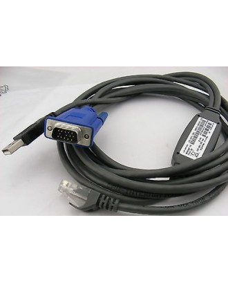 IBM 3M Console Switch Cable USB Lan VGA MPN 520-366-503