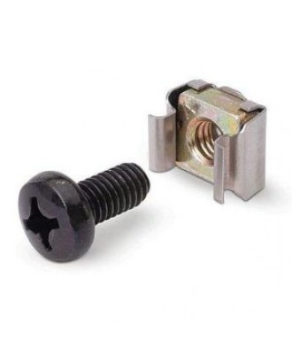 M6 Rack Datacenter Cage Nut Screw (Pack of 50) to mount servers/