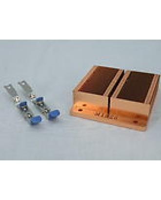 Poweredge 750 Powervault 745N Heatsink & Clips M1326 Copper 1U P